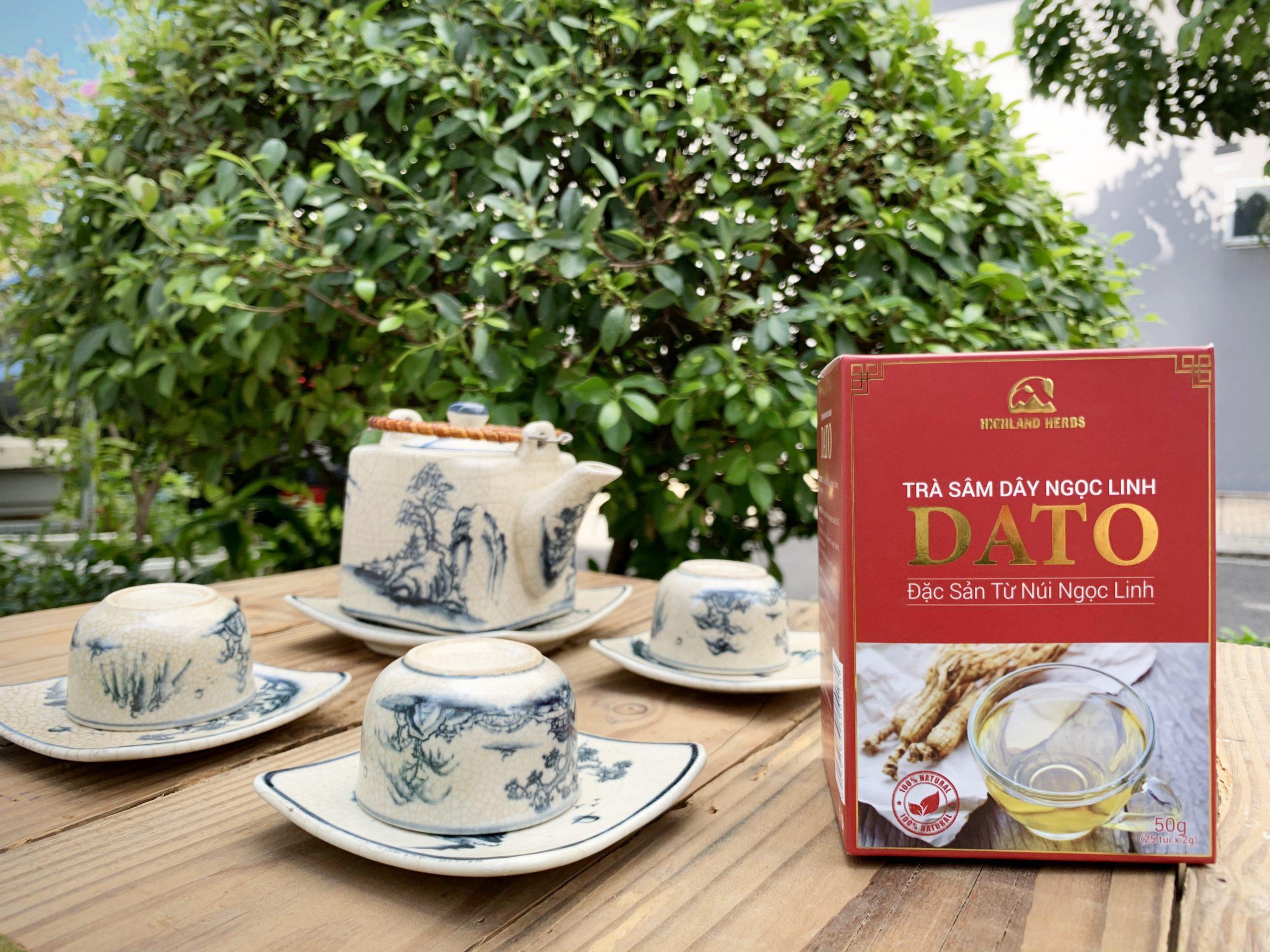 Trà sâm dây Ngọc Linh DATO - đặc sản nổi tiếng Kon Tum