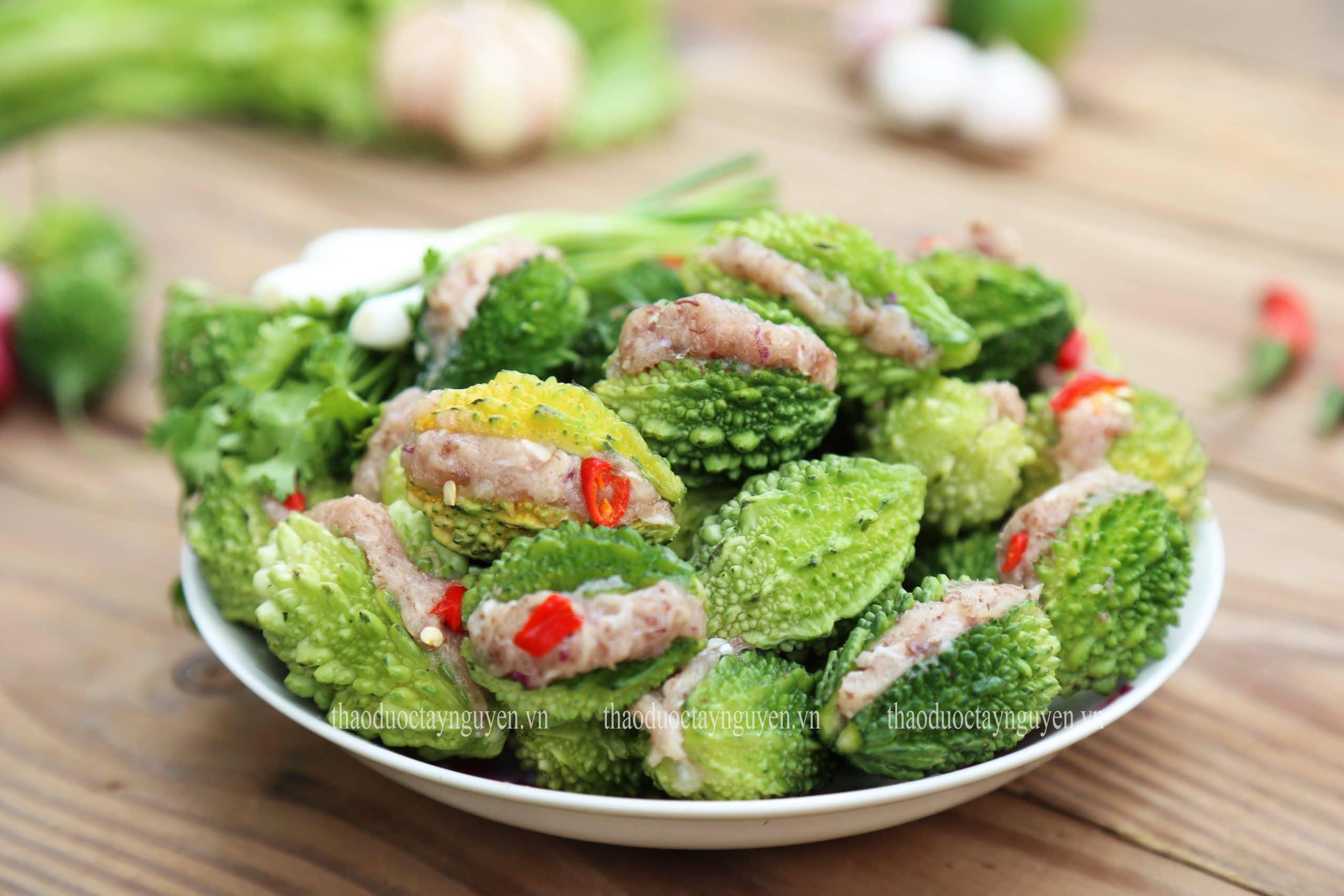 Khổ qua rừng được chế biết thành nhiều món ăn không những ngon mà còn tốt cho sức khỏe.