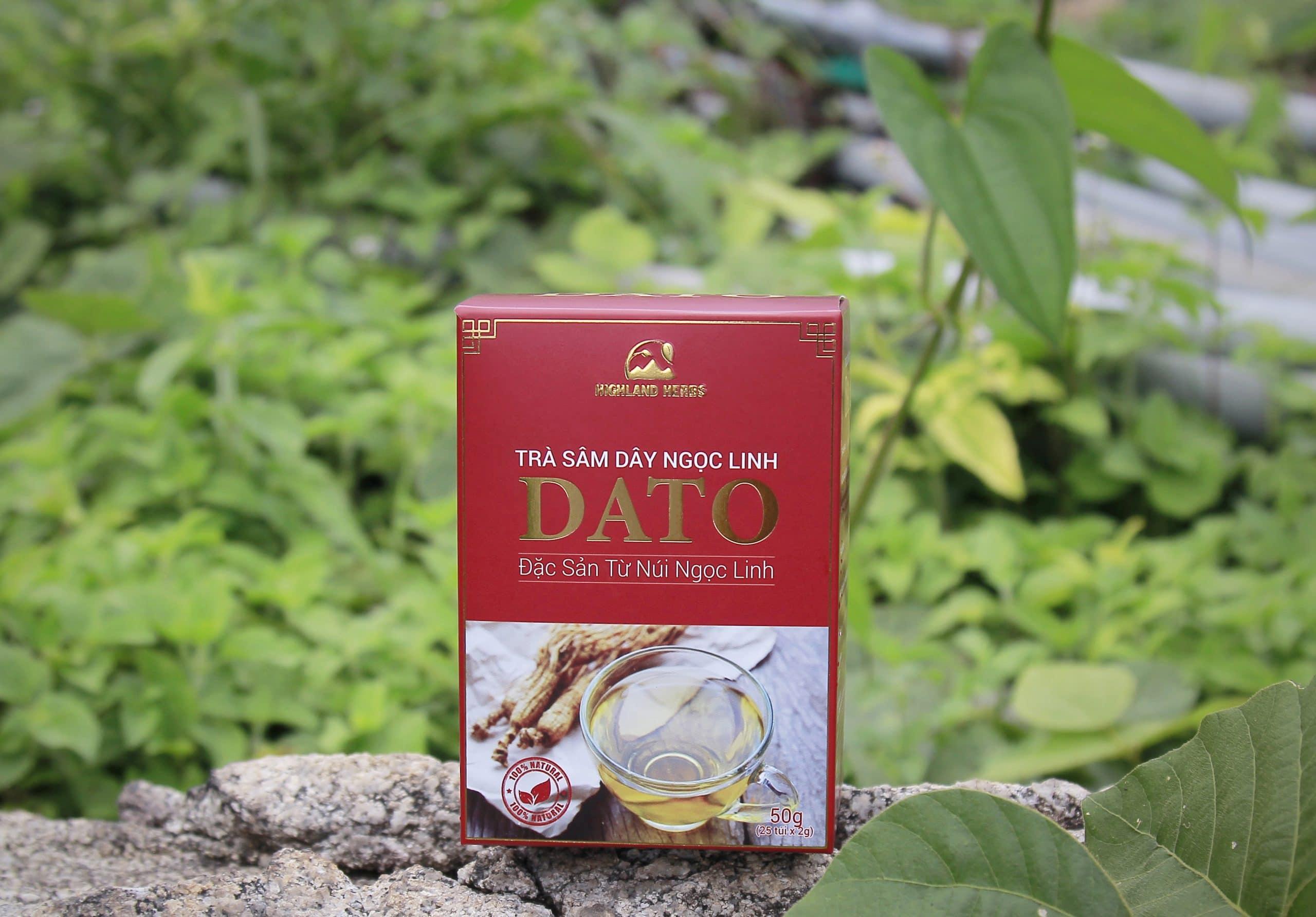 Trà sâm dây Ngọc Linh DATO – Đặc sản Kon Tum