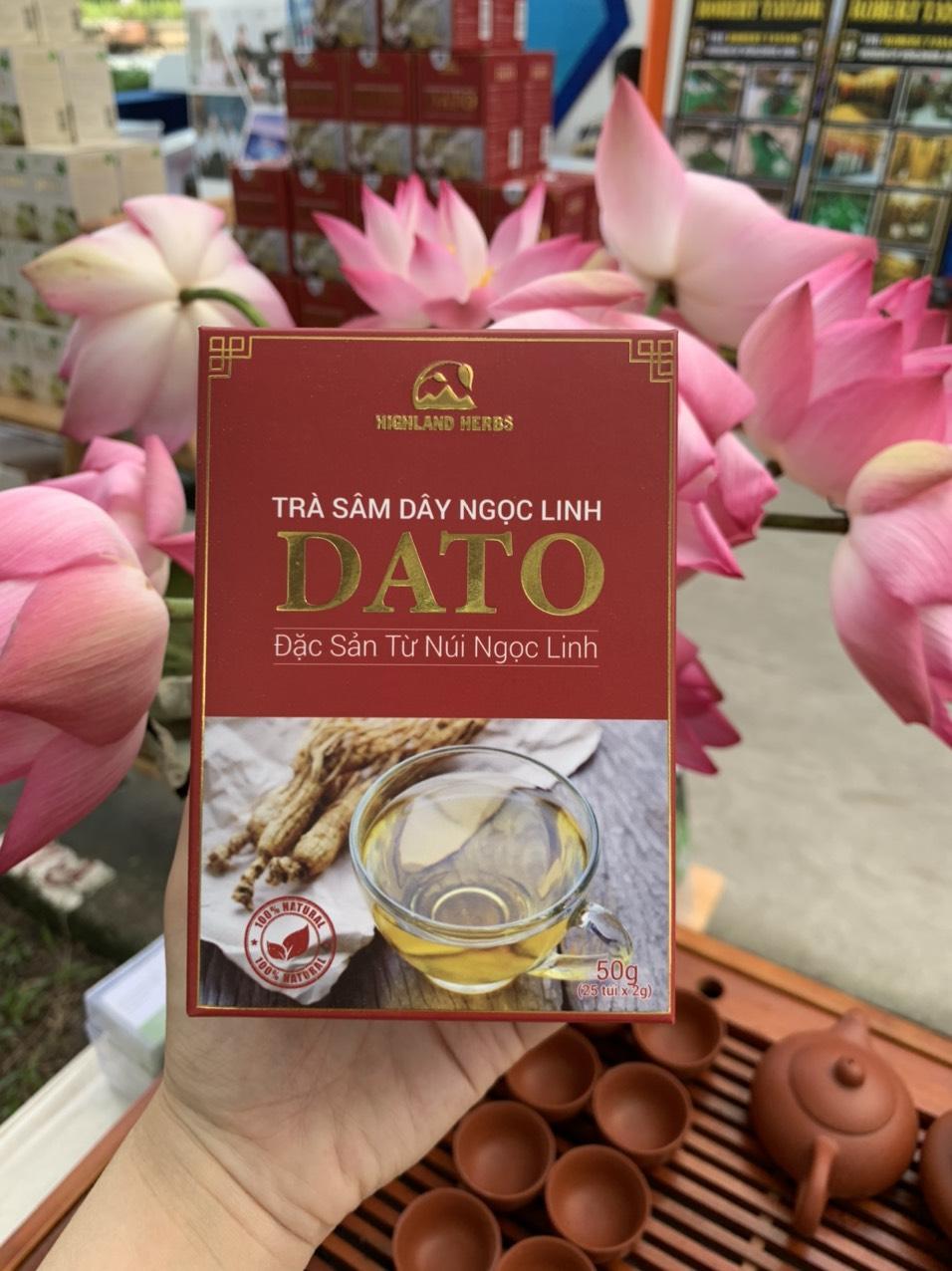 Trà sâm dây Ngọc Linh DATO - món quà cho sức khỏe